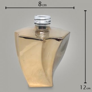 Frasco Elegance Reflex Dourado 200ml