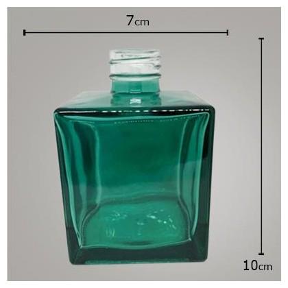 Frasco Cube Esmeralda 250ml