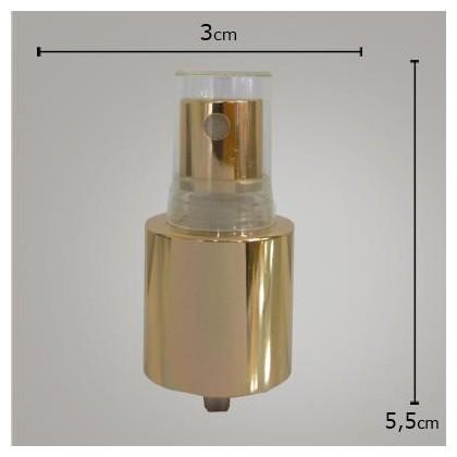Valvula Spray Luxo Dourada R24