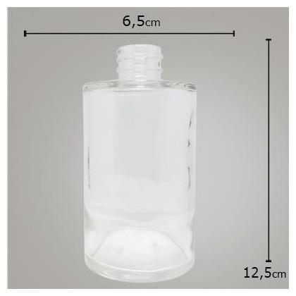 Vidro Cilindrico Cristal 250ml