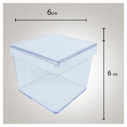 Caixa Acrílica 6x6