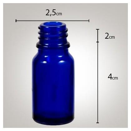 Vidro Azul 10ml R/18