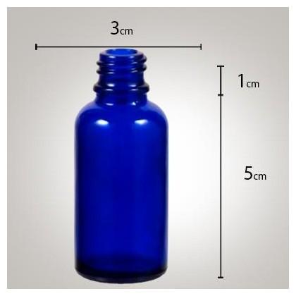 Vidro Azul 20ml R/18