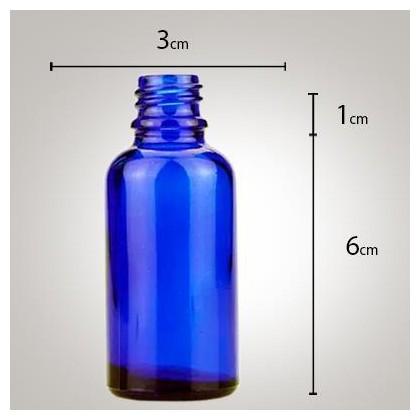 Vidro Azul 30ml R/18