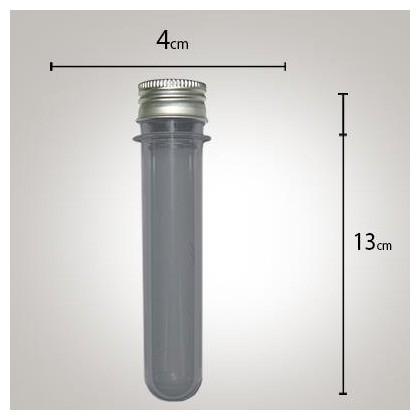 Tubo de Ensaio Fumê 13cm