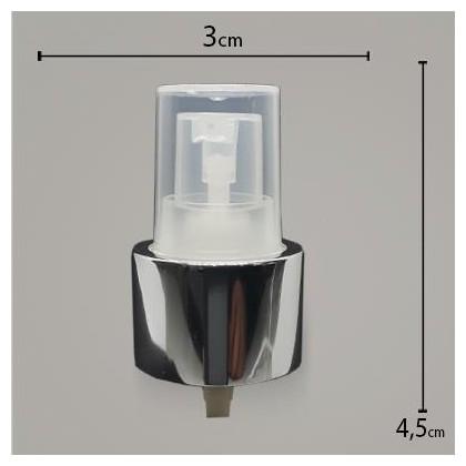 Válvula Reparadora Luxo Prata R24