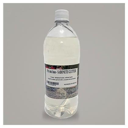 Base Sabonete Glitter Transparente 1L