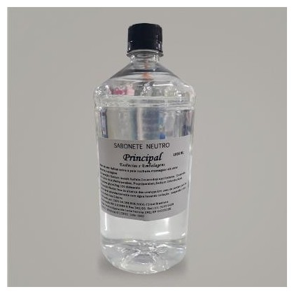 Base Sabonete Transparente 1/1 1L