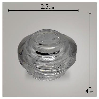 Tampa Aromatizador Glass Flor R28