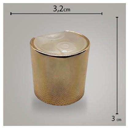 Tampa Disk Top Metal Luxo Dourada R28