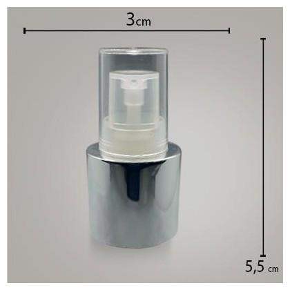 Valvula Reparadora Luxo Prata R 24