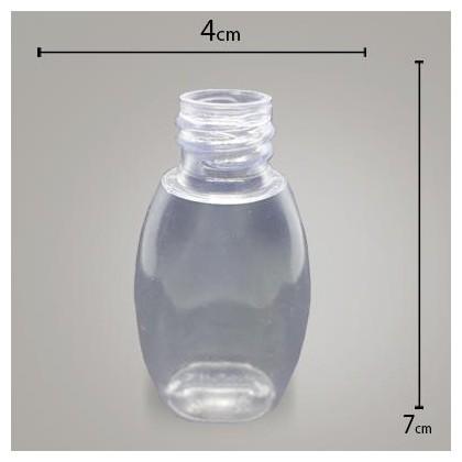 Frasco Pvc Cristal 30ml