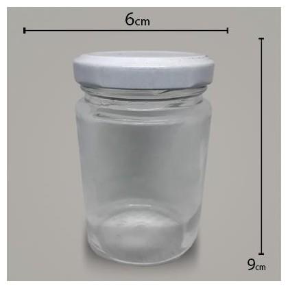 Vidro Pote 150gr C/TP