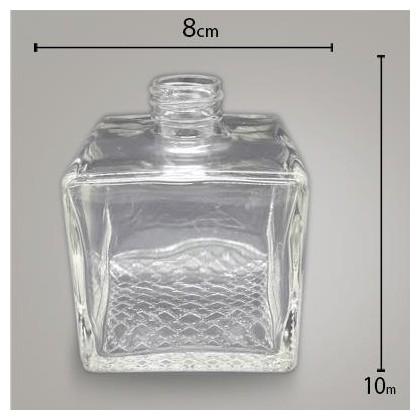 Frasco Cubo Cristal  350ml