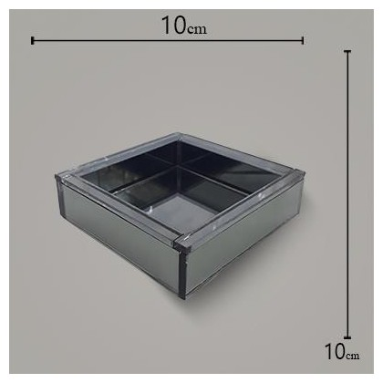 Bandeja WL Fume 10x10