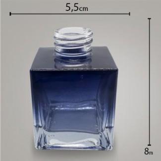 Frasco Cube Preto Degradê 100ml